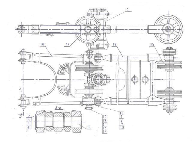 Схема узла. Стрела